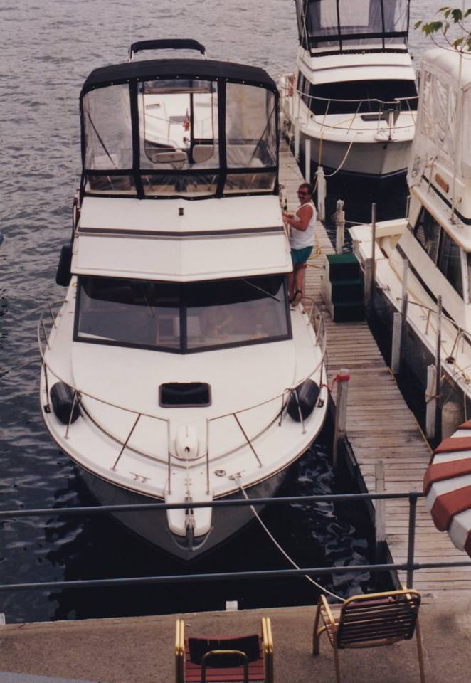 My brother's boat, 1993