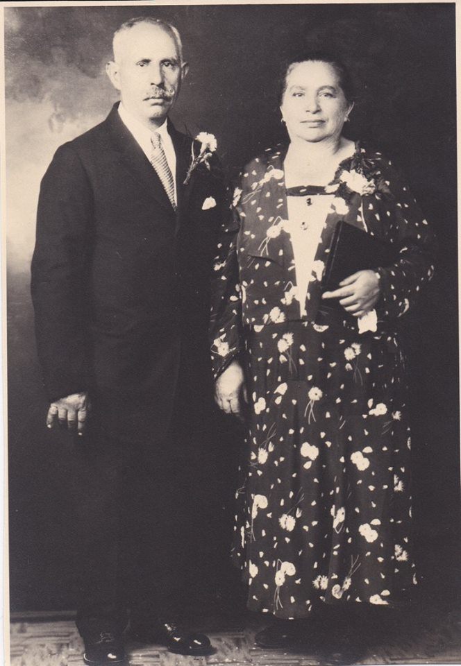 My Grandparents, Giuseppe and Concetta Bruno. My mother's parents.