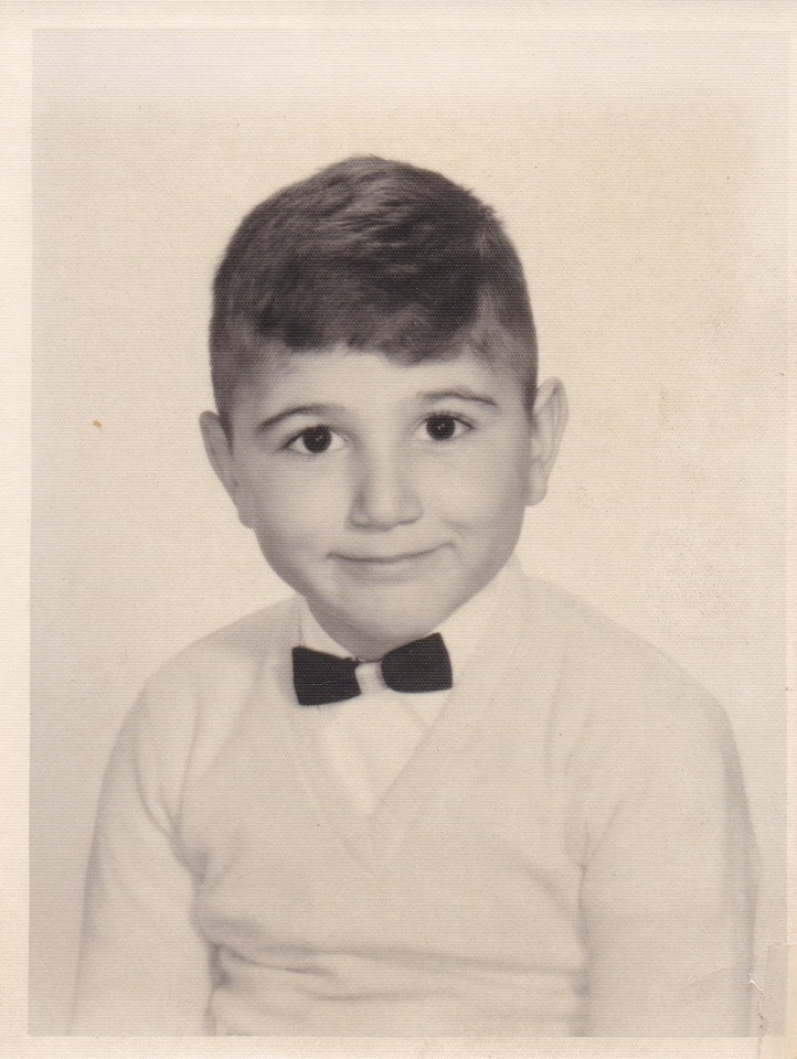 My brother at 5 years old, 1958