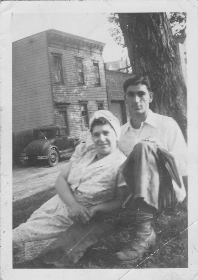 My parents early in their marriage, circa 1948
