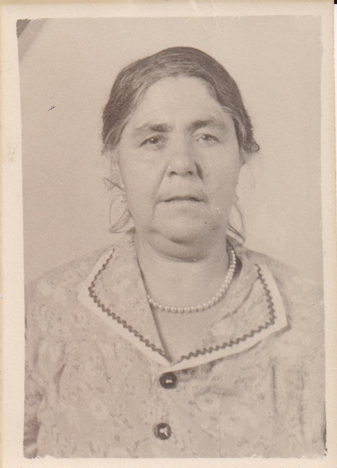 My Grandmother, Maria Mosca. My father's mother