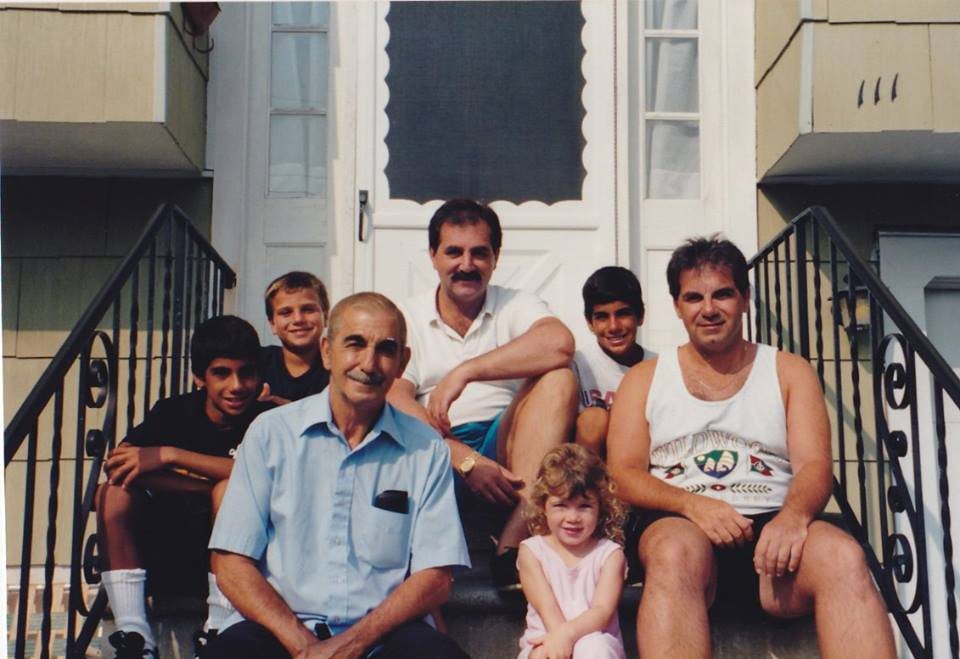 Wildwood, NJ, August 1993. Two months after our mother had died.